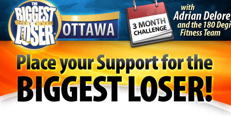 180degree fitness vote for the biggest loser ottawa